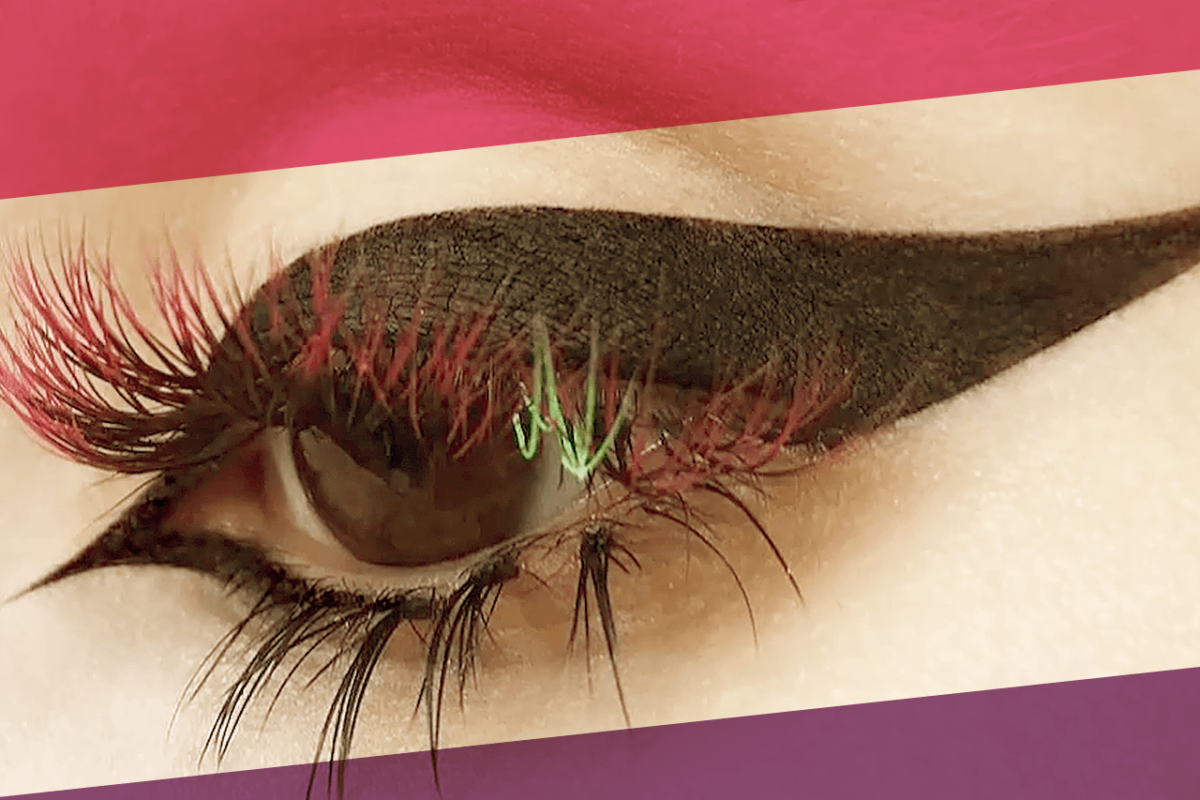 TRENDING NOW: OMBRÉ EYELASHES