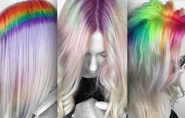 A RAINBOW FOR YOUR HAIR