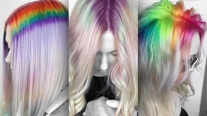 A RAINBOW FOR YOUR HAIR