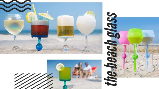 THE NON-SPILL BEACH GLASS