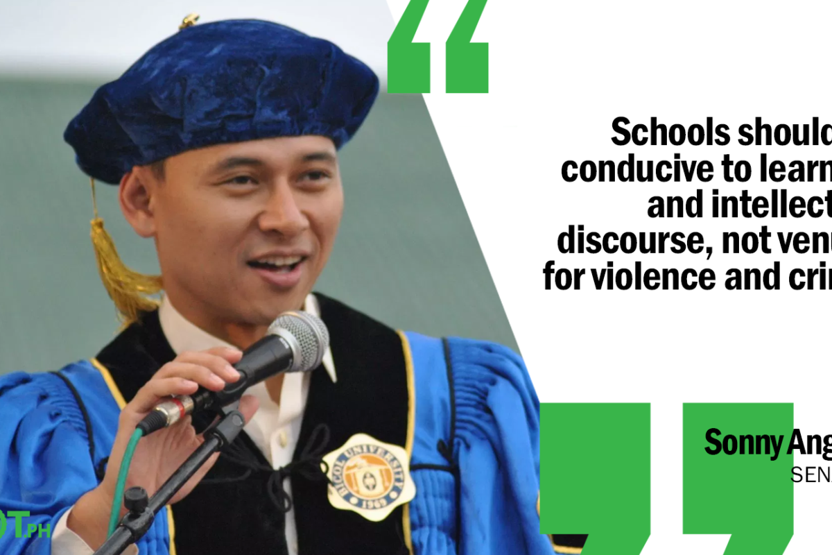 IMPLEMENT TIGHTER SECURITY MEASURES IN COLLEGES AND UNIVERSITIES – ANGARA