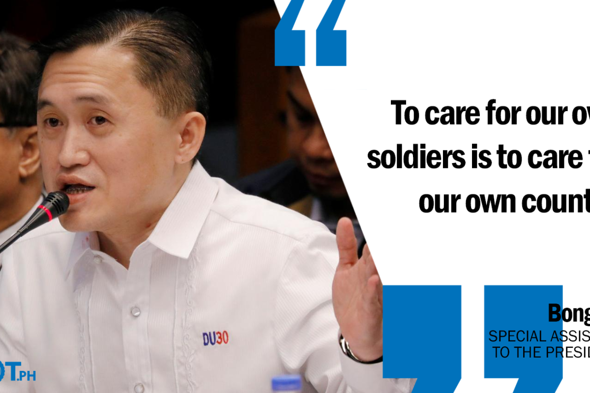 BARANGAY OFFICIALS PLAY VITAL ROLE IN KEEPING THE COUNTRY PEACEFUL AND PROGRESSIVE – GO