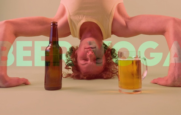 BEER YOGA: THE MARRIAGE OF TWO GREAT LOVES