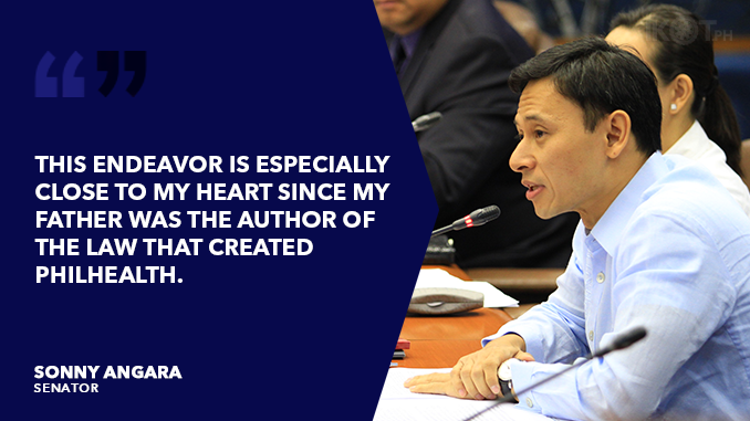 PUSH FOR UNIVERSAL HEALTH CARE FOR ALL FILIPINOS – ANGARA