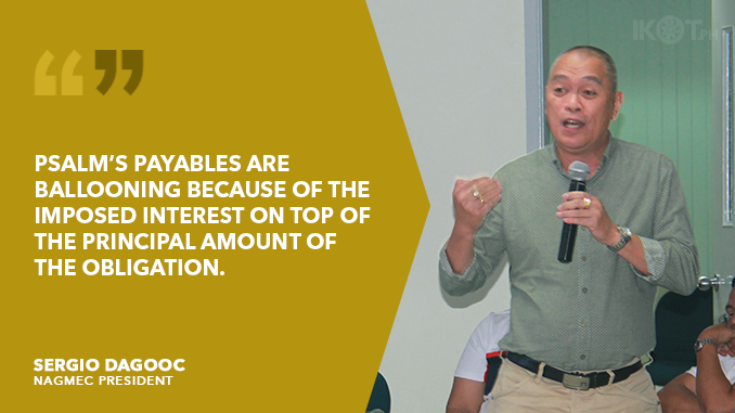 ELECTRIC COOPS URGE PSALM TO FACE CONGRESS, EXPLAIN ASSET DISPOSAL AND FUND USE
