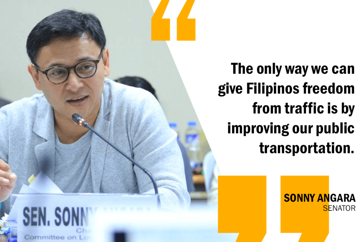 EFFECTIVE SOLUTION TO EDSA TRAFFIC SHOULD BE LONG-TERM – ANGARA