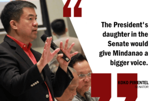 DAVAO CITY MAYOR DUTERTE SHOULD RUN FOR SENATE – PIMENTEL
