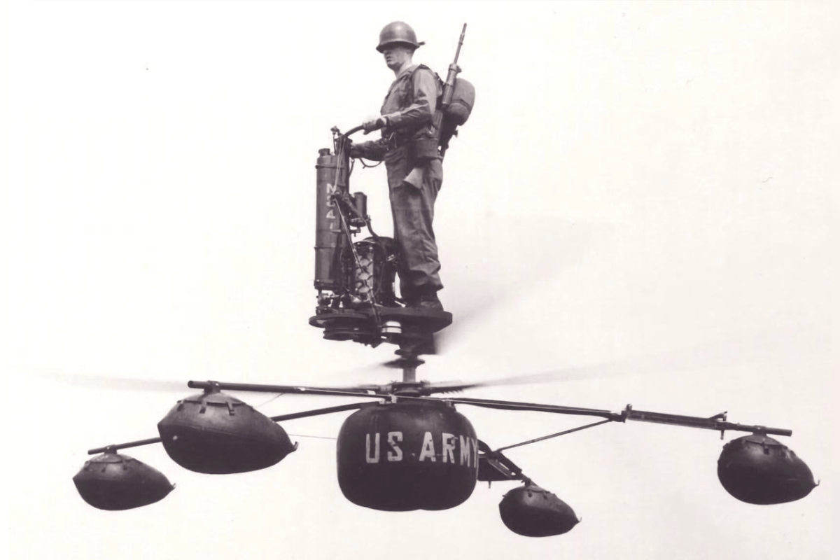 AEROCYCLE: AN INVENTION AHEAD OF ITS TIME