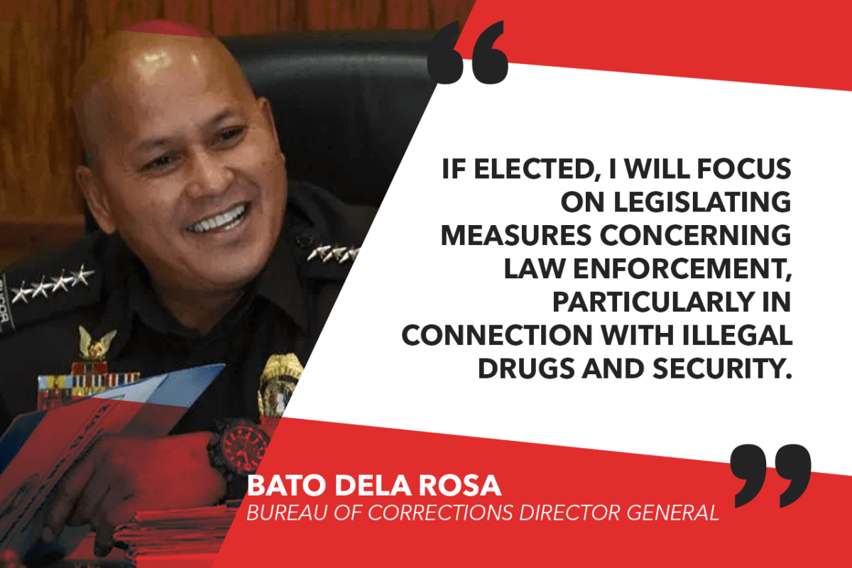 I WILL BE RUNNING FOR SENATOR – DELA ROSA
