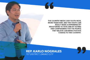 YOUNG VOTERS SHOULD REGISTER FOR 2019 POLLS – NOGRALES
