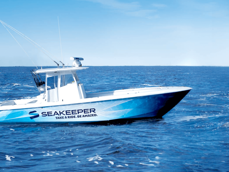 KEEPING A BOAT STEADY WITH SEAKEEPER