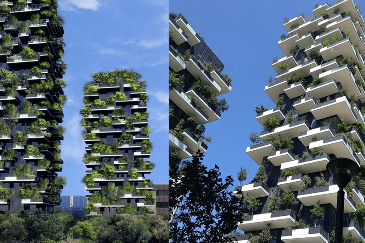 BOSCO VERTICALE: USING ARCHITECTURE TO FIGHT POLLUTION IN MILAN