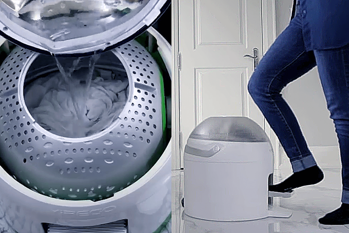 A WASHER THAT GIVES YOU A WORKOUT