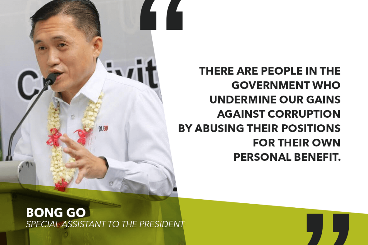 GO TO DUTERTE'S LEX TALIONIS BRODS: HELP THE PRESIDENT FIGHT CORRUPTION