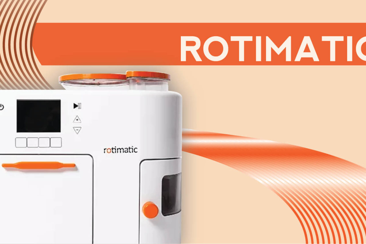 ROTI MADE EASY WITH ROTIMATIC