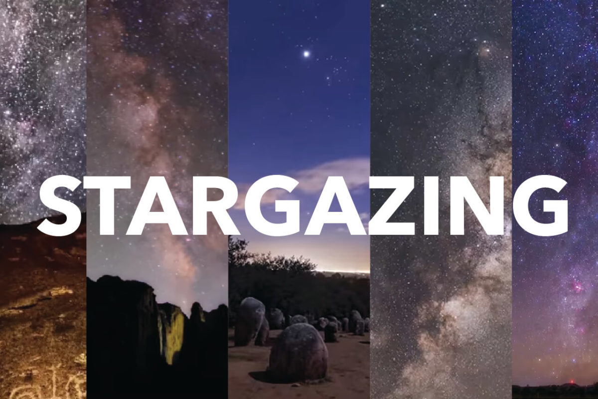 FIVE BEST STARGAZING SITES IN THE WORLD