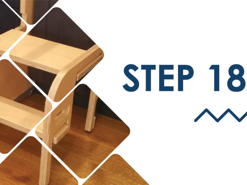KITCHEN FOLDABLE STAIRS