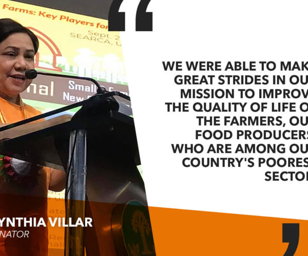 I HOPE TO CONTINUE WORK AND HELP MORE PEOPLE IN SEEKING SECOND TERM – VILLAR