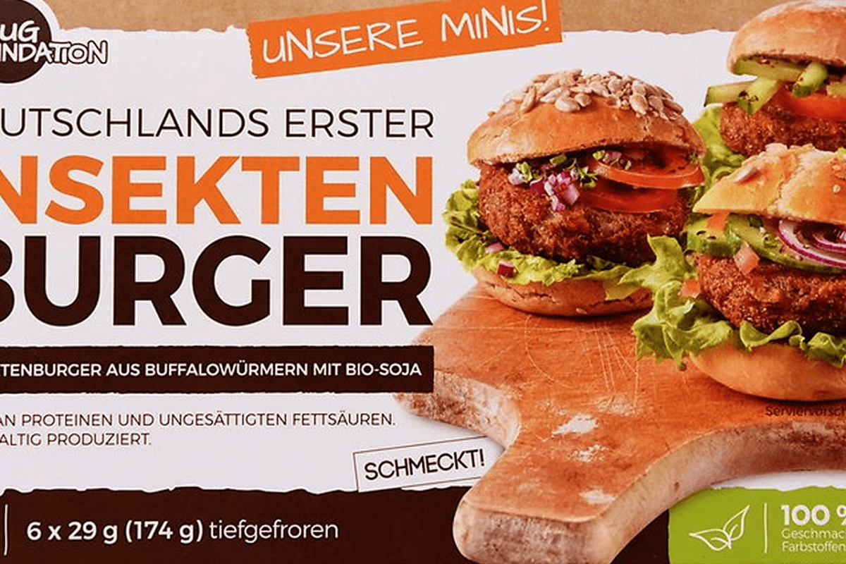 INSECT BURGERS INVADE EUROPE