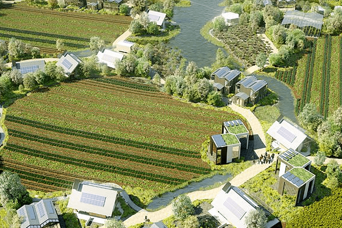 GREEN VILLAGES OF THE FUTURE