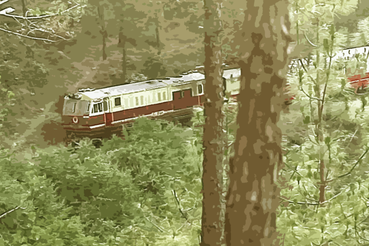 THE MOUNTAIN RAILWAYS OF INDIA: THE JOURNEY IS THE ADVENTURE