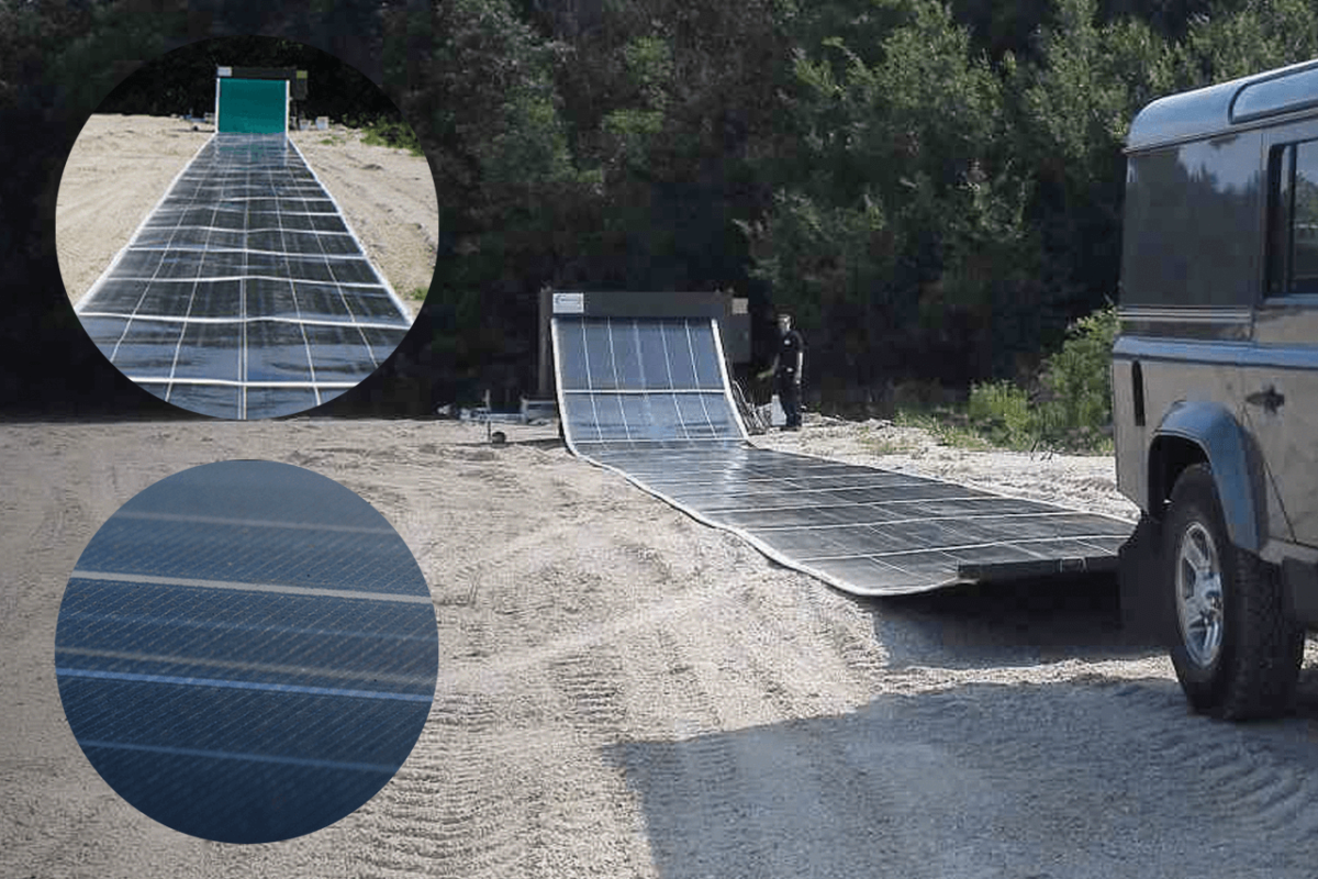 PORTABLE SOLAR PANELS DESIGNED FOR DISASTERS