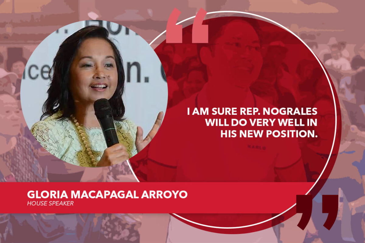 NOGRALES WOULD BE A VALUABLE ADDITION TO THE DUTERTE CABINET – SPEAKER ARROYO