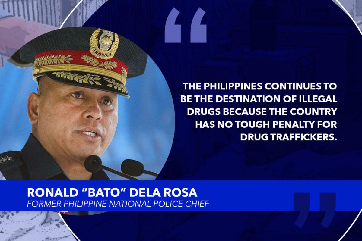 RESTORE DEATH PENALTY FOR DRUG TRAFFICKERS – DELA ROSA