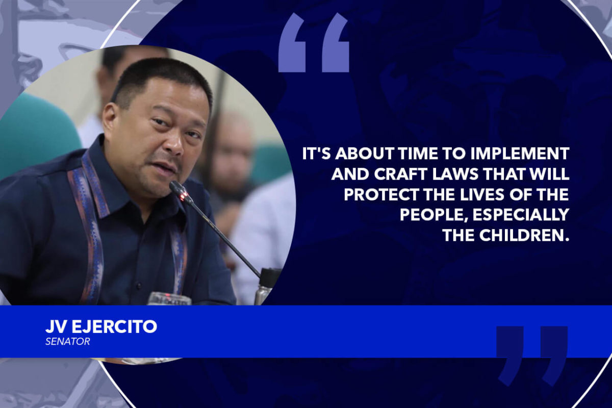 BICAM PANEL APPROVES CHILD RESTRAINT IN MOTOR VEHICLE BILL – EJERCITO