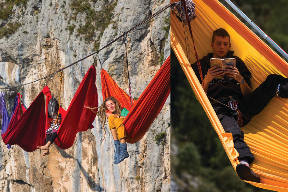 BREATHTAKING OUTDOOR HAMMOCKS