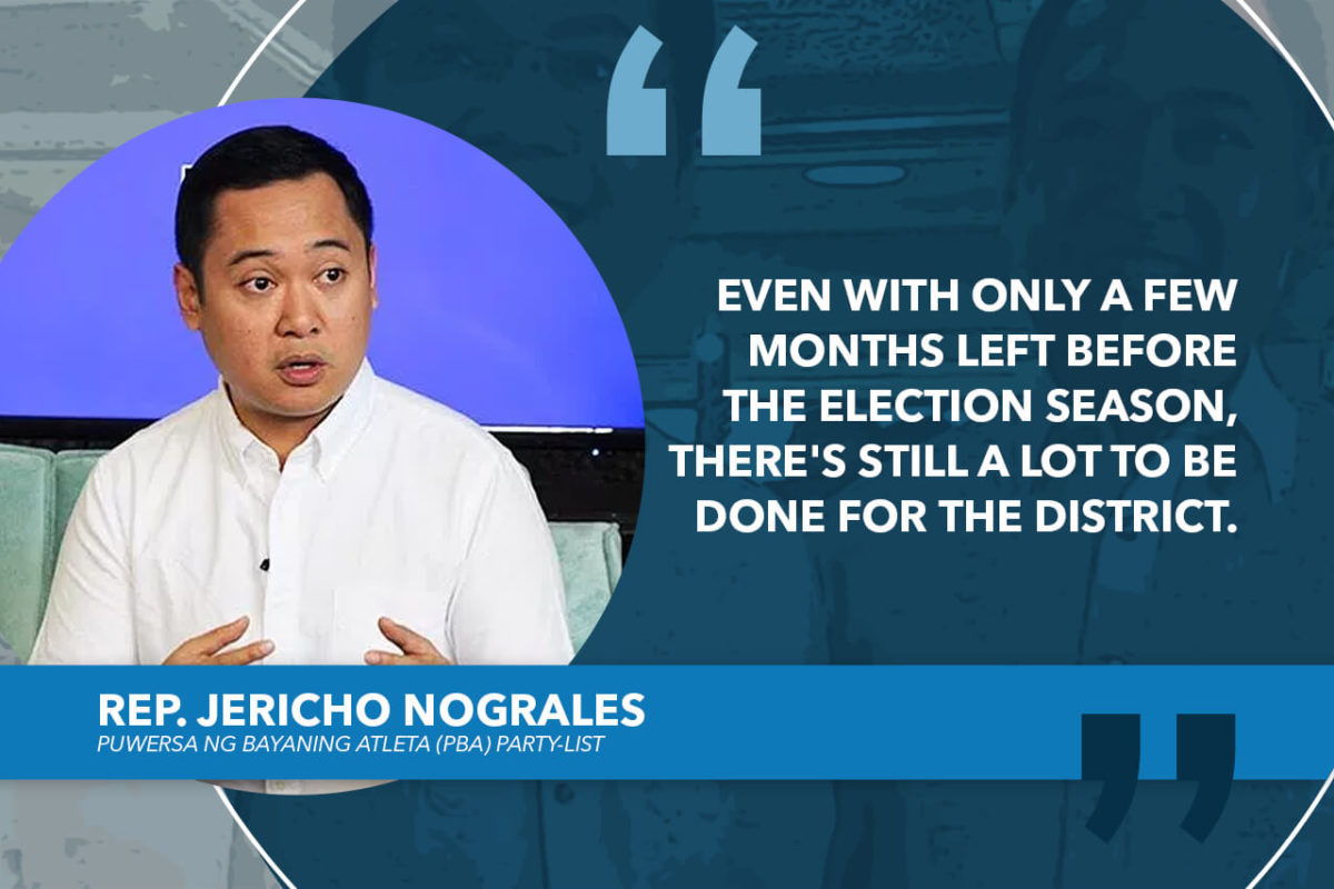I'M HAPPY TO BE CHOSEN AS LEGISLATIVE CARETAKER OF DAVAO CITY'S FIRST DISTRICT – NOGRALES