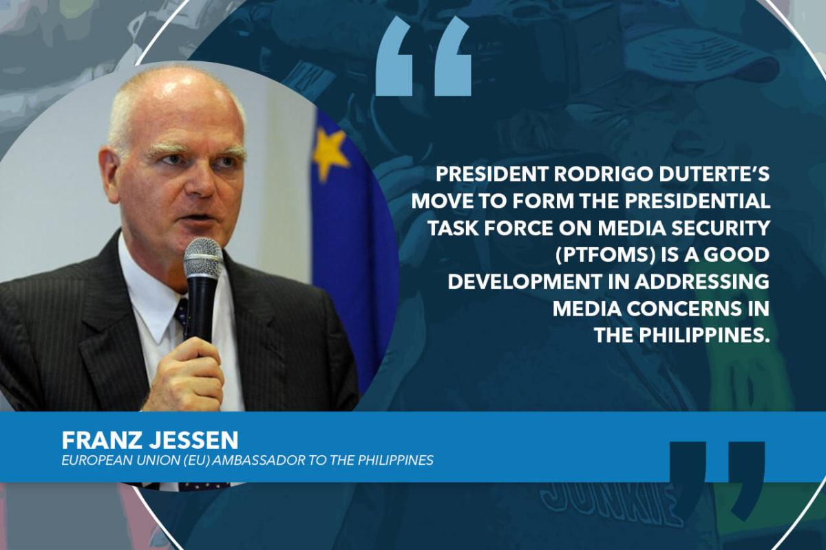 CREATION OF PTFoMS IS A WELCOME DEVELOPMENT – EU ENVOY