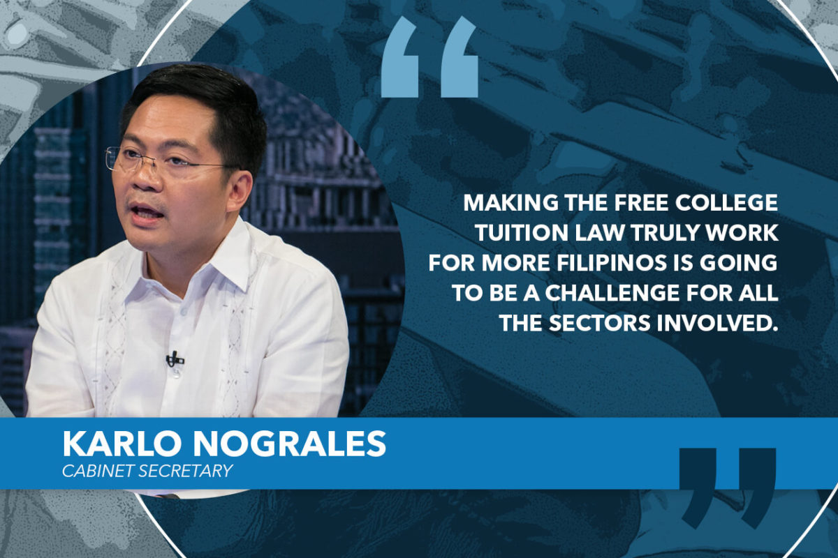 GOVT COMMITTED TO SUPPORT FREE TUITION IN SUCS – NOGRALES