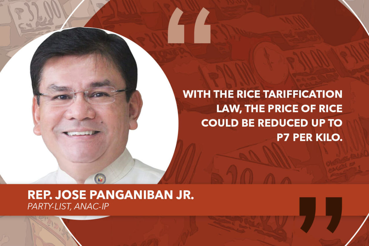 I WILL CONVINCE COLLEAGUES TO CONVENE RICE TARIFF BICAM ASAP – PANGANIBAN