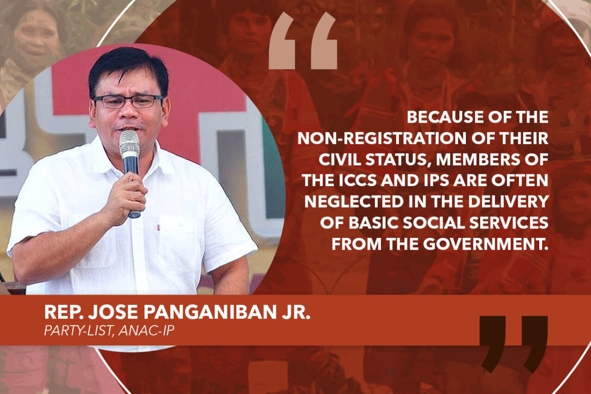 HOUSE APPROVES FREE CIVIL REGISTRATION FOR INDIGENOUS PEOPLES – PANGANIBAN
