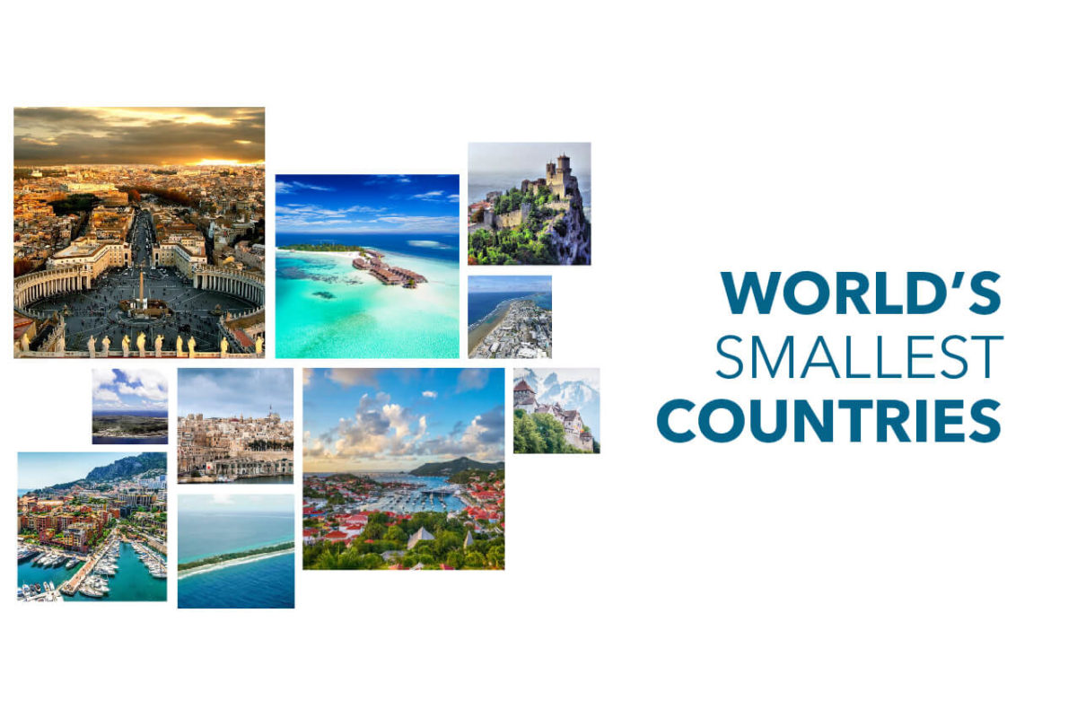 WORLD'S 10 SMALLEST COUNTRIES