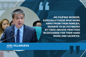 SENATE TO PROBE MISERABLE WORK CONDITIONS OF OFW TRUCK DRIVERS IN DENMARK – VILLANUEVA