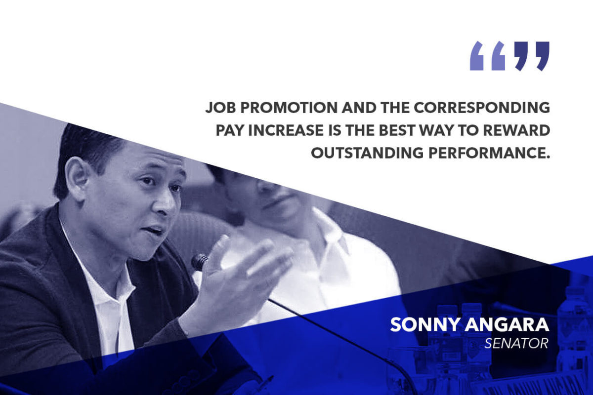 ALLOT P2.9B TO FOR PROMOTION OF TEACHERS IN STATE UNIVERSITIES, COLLEGES – ANGARA
