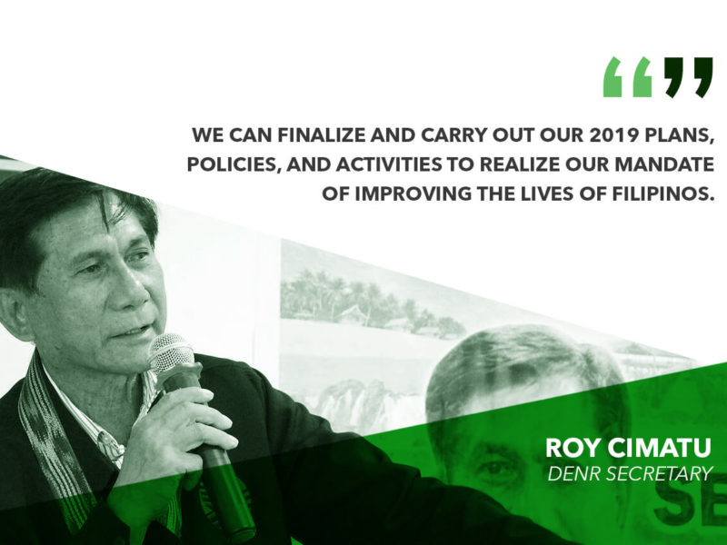 SENATE APPROVAL OF P24B BUDGET TO ALLOW DENR TO DELIVER PRIORITY PROGRAMS – CIMATU