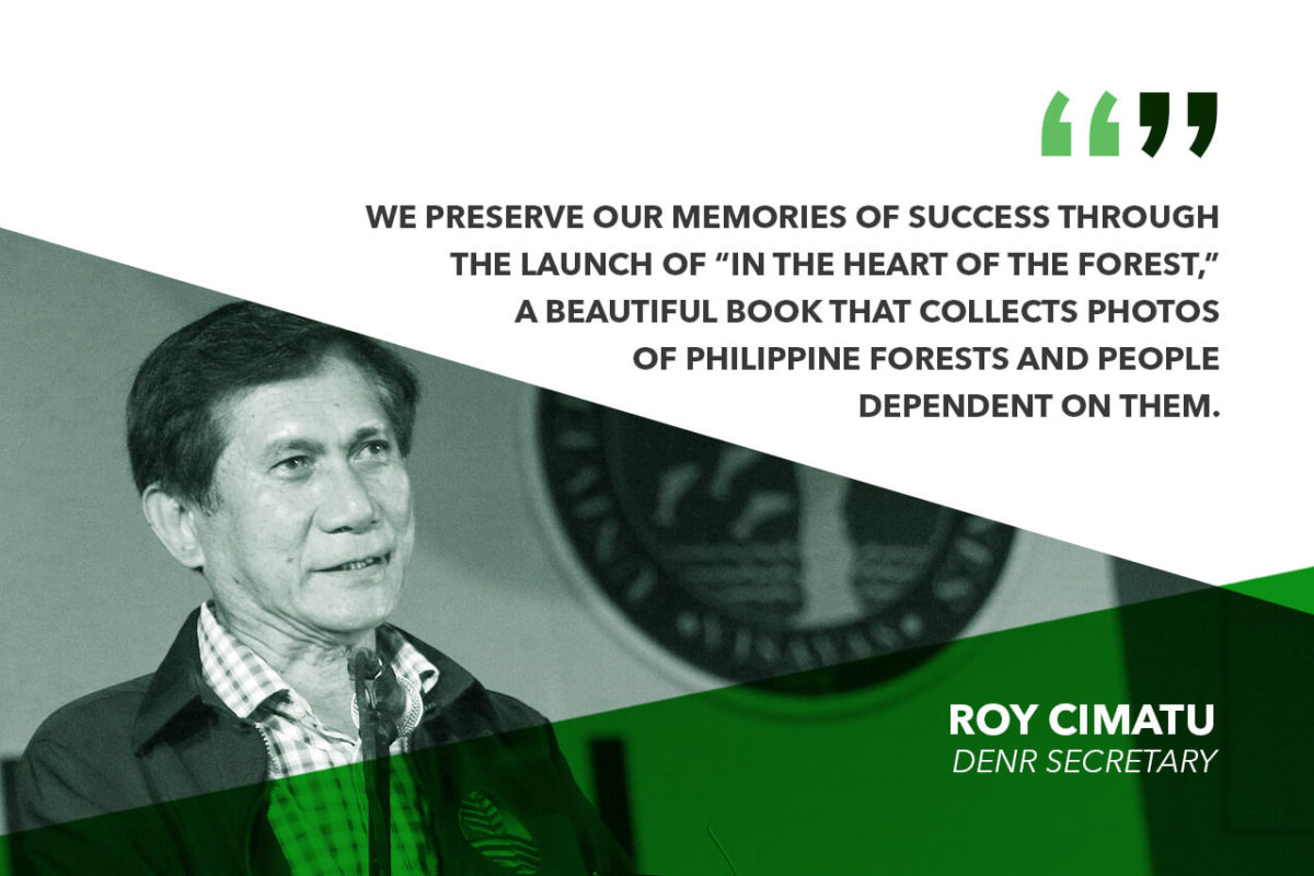 DENR, USAID LAUNCH BOOK ON FOREST CONSERVATION – CIMATU