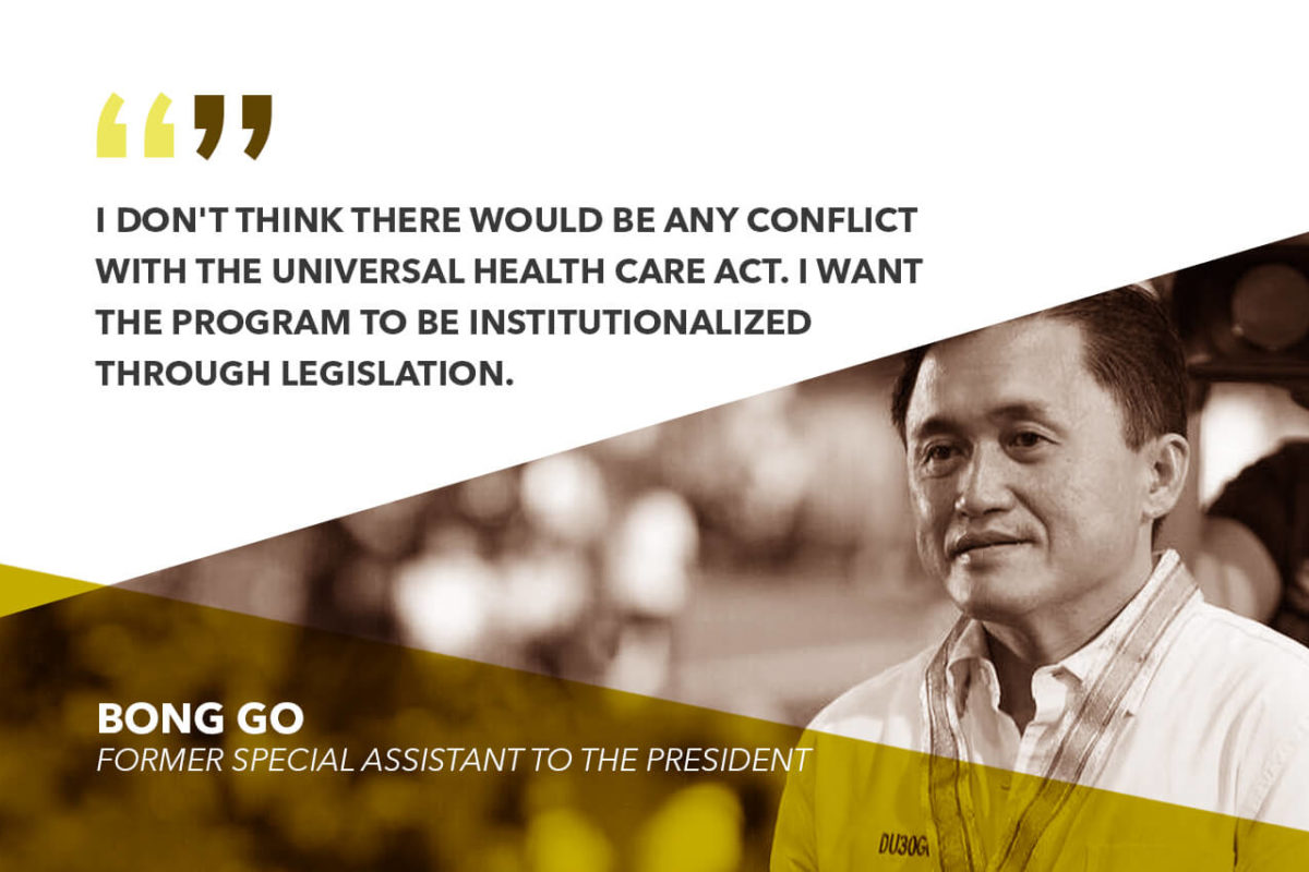 EXPANSION OF MALASAKIT CENTERS TO COMPLEMENT UNIVERSAL HEALTH CARE LAW – GO