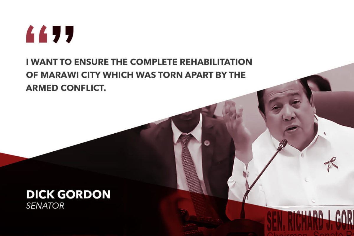 MINDANAOANS FEEL SAFER WITH MARTIAL LAW IMPOSED – GORDON