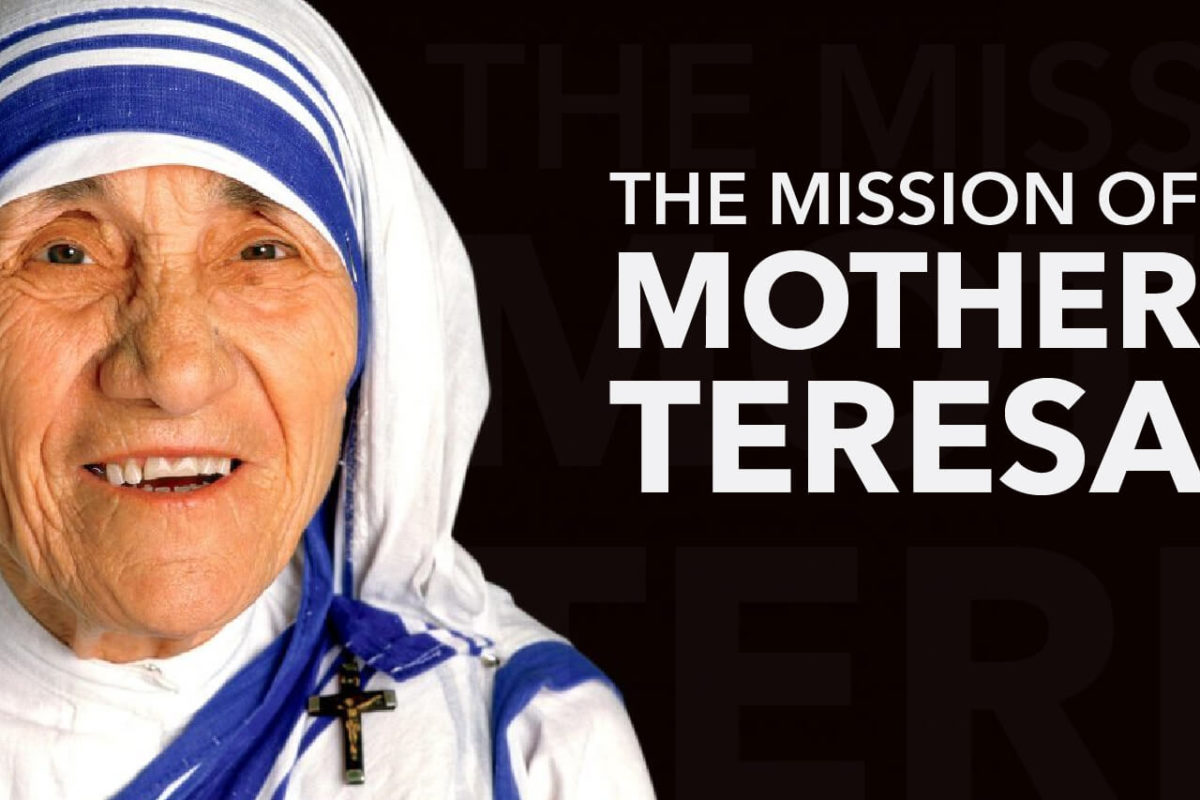 THE RIPPLE EFFECT OF MOTHER TERESA