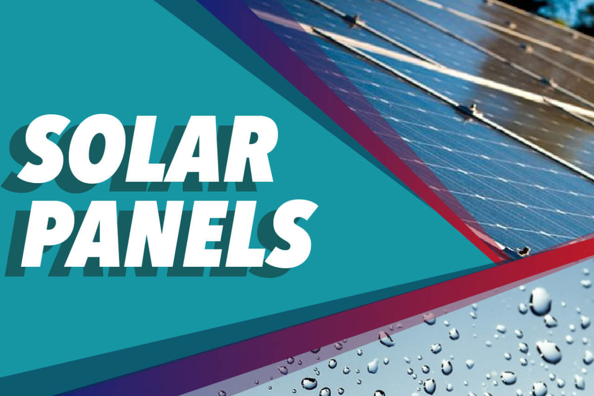 SOLAR PANELS THAT HARNESS RAIN DROPS