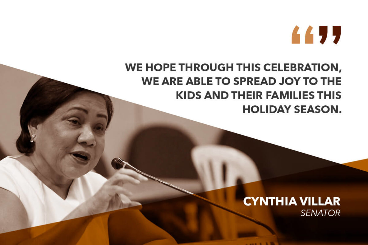 CHRISTMAS IS A SPECIAL TIME FOR CHILDREN – VILLAR