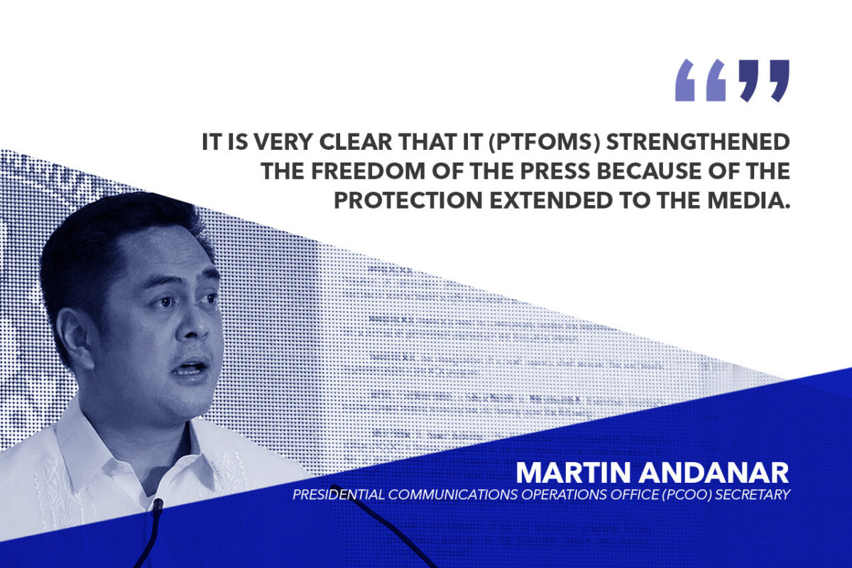 A 'JOB WELL DONE' FOR PTFoMS, FOI PROGRAM – ANDANAR