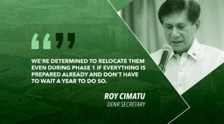 MANILA BAY INFORMAL SETTLERS TO BE RELOCATED – CIMATU