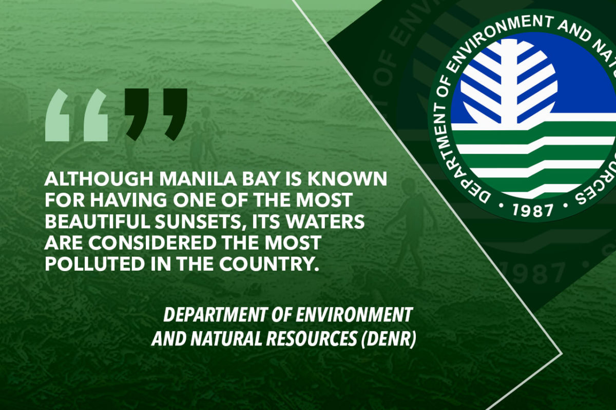 MANILA BAY CLEAN UP CAMPAIGN TO BE TIGHTENED – DENR