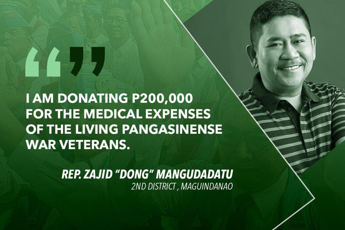 LET US THANK AND HONOR THE WAR VETERANS – MANGUDADATU