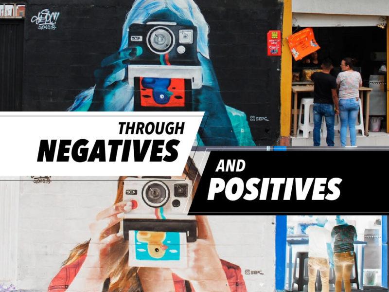 NEGATIVE ART FOR POSITIVE CHANGE